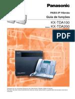 Panasonic KX-TDA100_200 - Guia de Funcoes