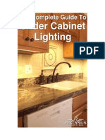 Complete Guide to Under Cabinet Lighting