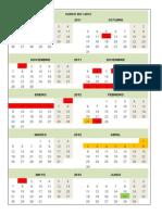 calendario-escolar-español