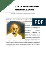 Estudio de La Personalidad de Mahatma Gandhi