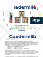 CUADERNILLOS PREECTURA