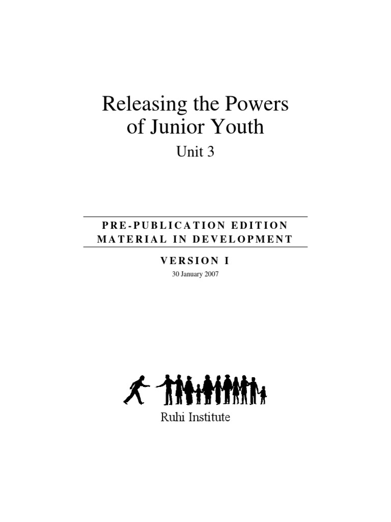 Ruhi bk 53 releasing the powers of junior youth unit 3 ruhi bk 53 releasing the powers of junior youth unit 3 spirituality weaving fandeluxe Image collections