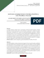 AVELINO, Nildo. Estudos Anarquistas E Teoria Política - entre Proudhon e Foucault