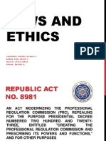 Laws and Ethics (Jan 24 2014)