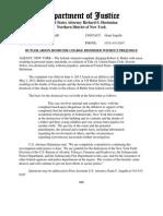 Butler Dismissal Release