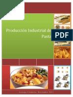 Producción Industrial de Pasta