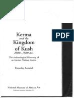 Kerma and the Kingdom of Kush