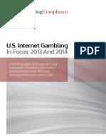 U.S. Internet Gambling In Focus
