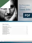 The Presentation Genius of Steve Jobs Carmine Gallo Business Week