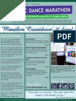 February 2014 UNC Dance Marathon Newsletter