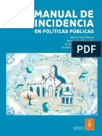 Manual de Incidencia en Políticas Públicas