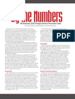 By The Numbers - Foreign Service Promotion Statistics 2012