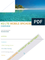4G LTE Mobile Broadband Overview Introduction