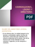 Coordinadores, Líderes y directores - JOVENES