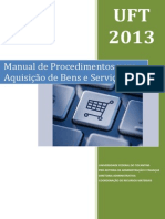 Manual de Aquisição de Bens e Serviços - UFT