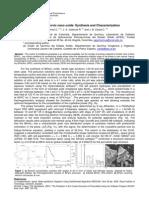 BiFeO3 Multiferroic Nano Oxide, Synthesis and Characterization