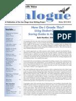 Dialogue Winter 2013-2014