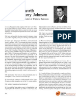 An Interview With Larry Johnson