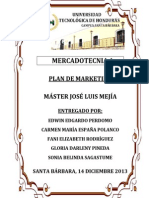 Plan de Marketing [Mercadotecnia 1] Terminado