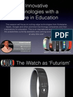 Innovative Technologies With a Future in Education