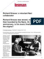 Richard Strauss_ a Reluctant Nazi Collaborator