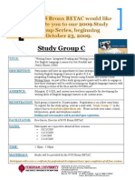 Study Group C- Flyer