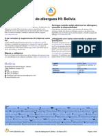 HI Guia de Albergues Juveniles Bolivia