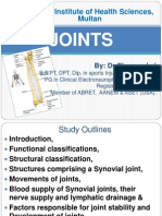 Joints by Dr.Chaman Lal (CK)