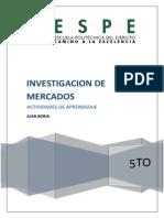 g 1 Investigacion de Mercado s