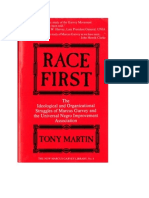 Race First, Tony Martin
