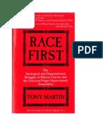 Race First, Tony Martin