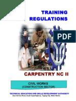 TR Carpentry NC II