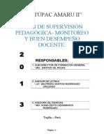 PLAN DE SUPERVISIÓN 2013