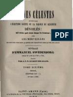 Em Swedenborg ARCANES CELESTES TomeDixieme 1sur2 Genese XLX XLVII Numeros 5867 6215 LeBoysDesGuays 1853