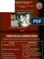 5.- Ensayos de Laboratorio