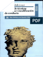 Manual de Tecnicas de Terapia y Modificacion de Conducta = Vincent E. Caballo Compilador