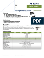 TP-PS Power Supply Spec Sheet
