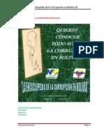 Enciclopedia de la corrupción en Bolivia III