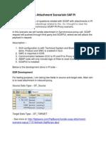 Handle SOAP With Attachment Scenarioin SAP PI