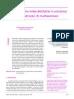 artigo - Relacionamentos intersubsidiárias e processos