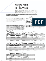 Arpeggios With Two Hand Tapping_by CRR_Guitar