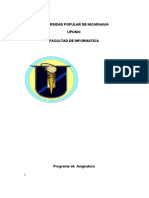 Programa de Estudio Del Trabajo I Revisado