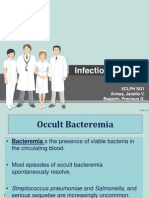 Sample Case Presentation- Occult Bacteremia