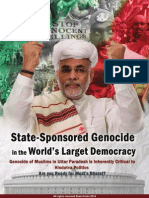State Sponsor Genocide in India