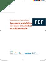 2012 Lineamiento Consumo Alcohol