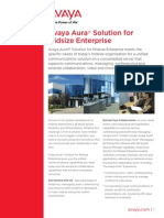 Avaya Aura Solution for Midsize Enteprise - Brochure Final