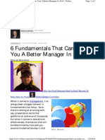 6 Fundamentals That Can Make You a Better Manager in 2014