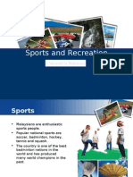 Malaysia Sports and Recreation