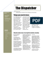 The Dispatcher Volume 3 Issue 1 June 2009
