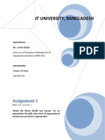 Skyfall Assignment of Principles of Management